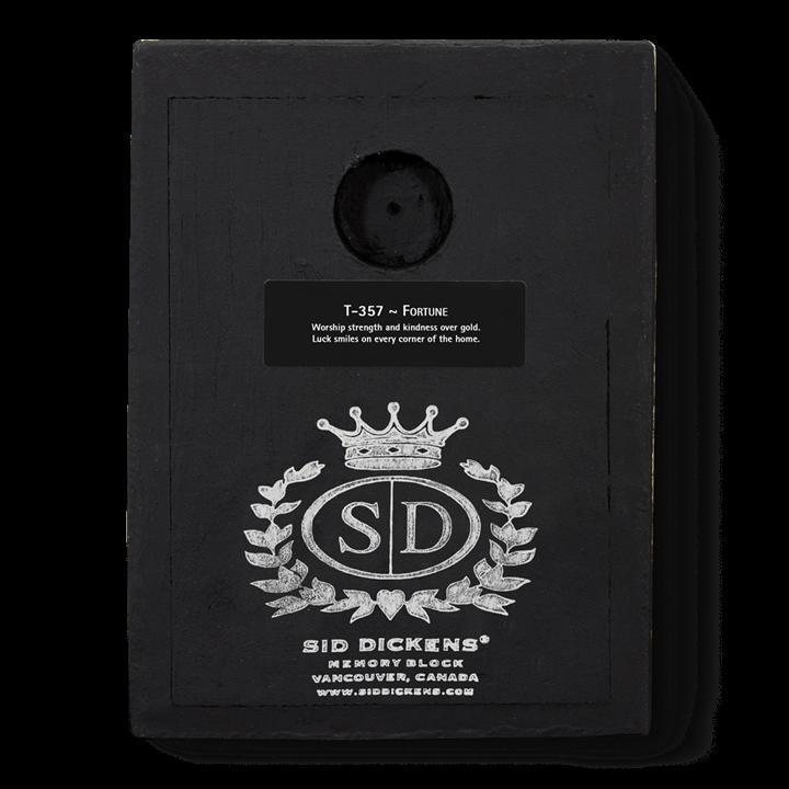 T357 - Fortune - Memory Block Sid Dickens