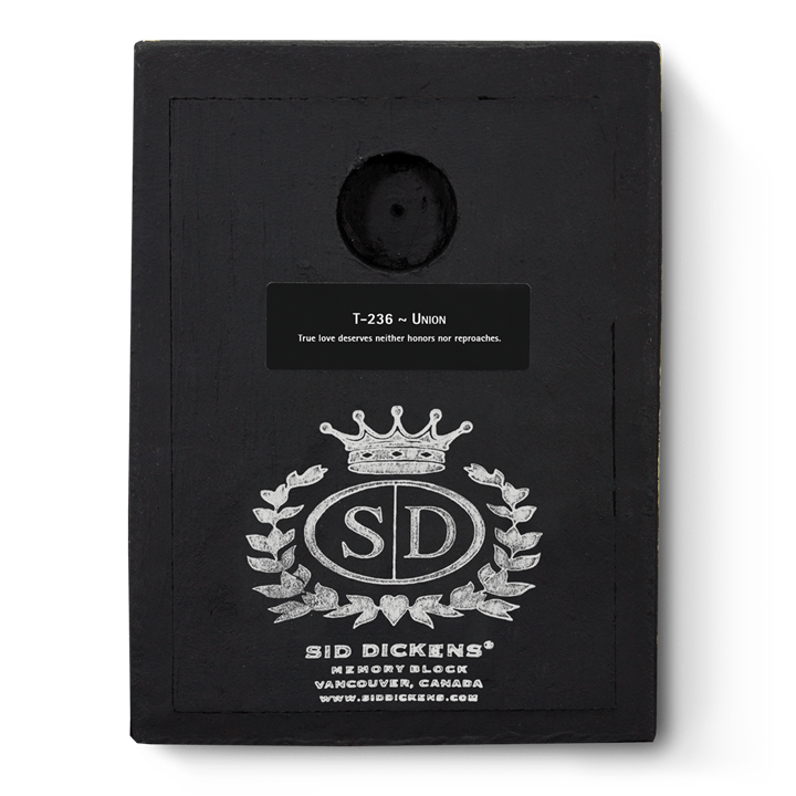 T236 - Union - Memory Block Sid Dickens