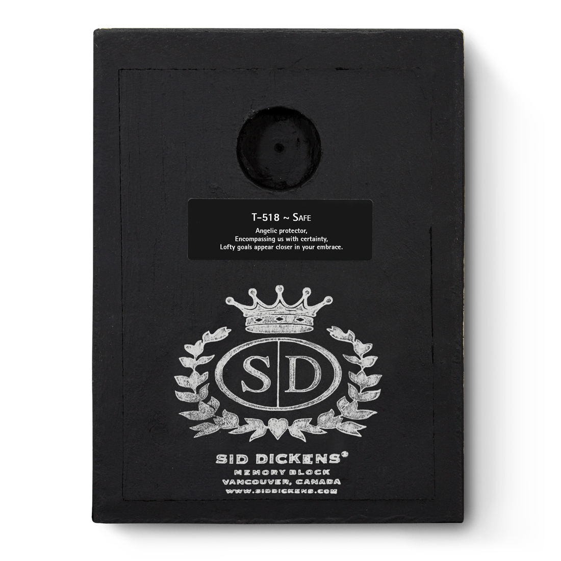 T518 - Safe - Memory Block Sid Dickens