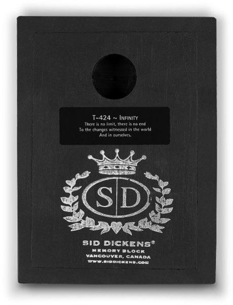T424 - Infinity *retired* - Memory Block Sid Dickens