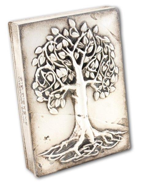T406 - Celtic Tree of Life - Memory Block Sid Dickens
