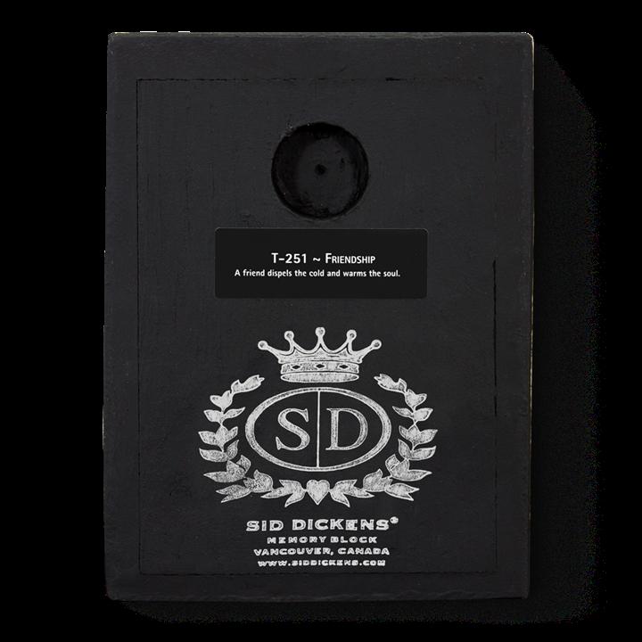 T251 - Friendship - Memory Block Sid Dickens