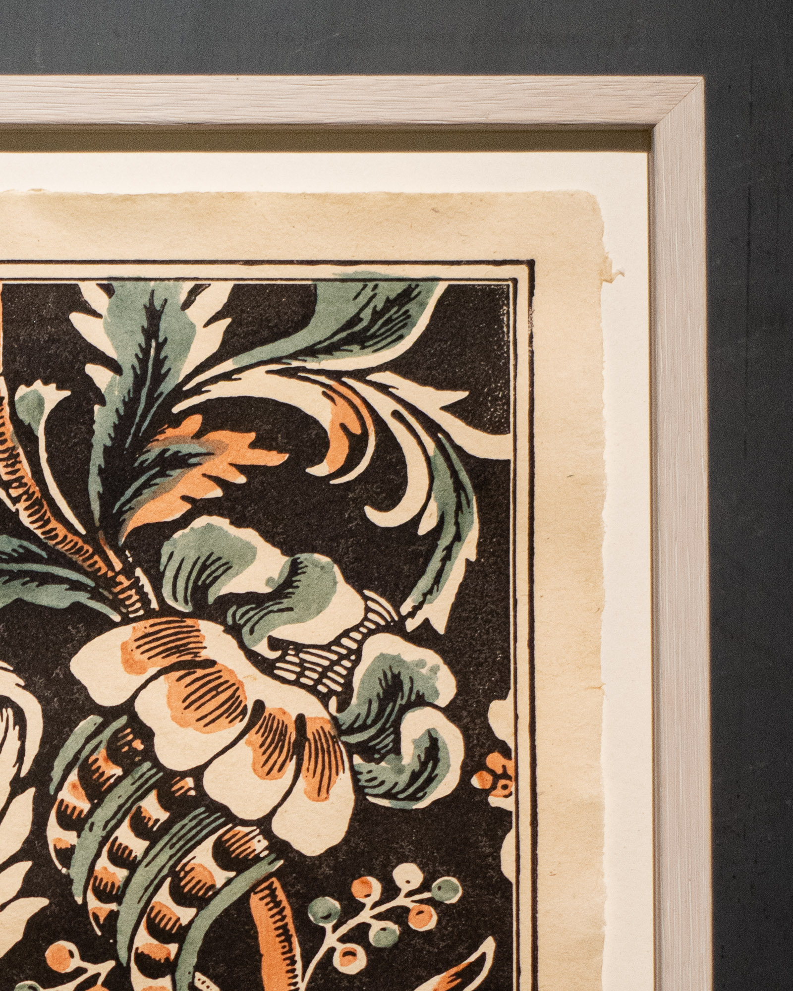 Domino Wandbild 59A GRANDS PAVOTS / Große Mohnblume