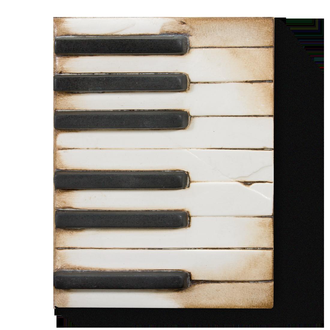 T45 - Piano Keys - Memory Block Sid Dickens