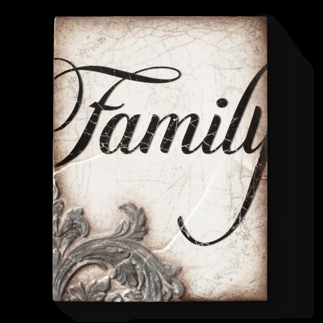 T341 - Family - Memory Block Sid Dickens