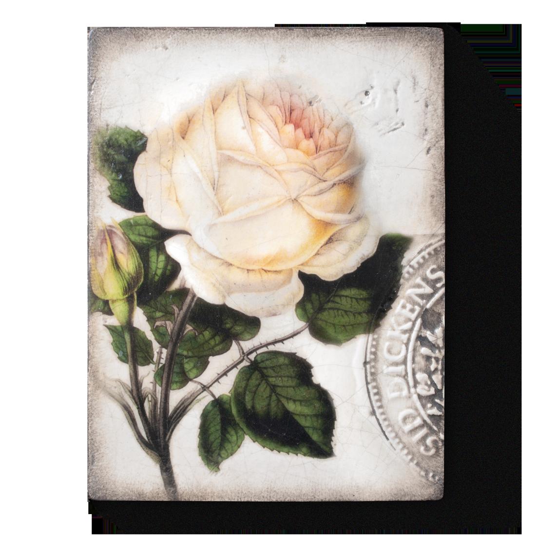 T374 - Sweet Rose - Memory Block Sid Dickens