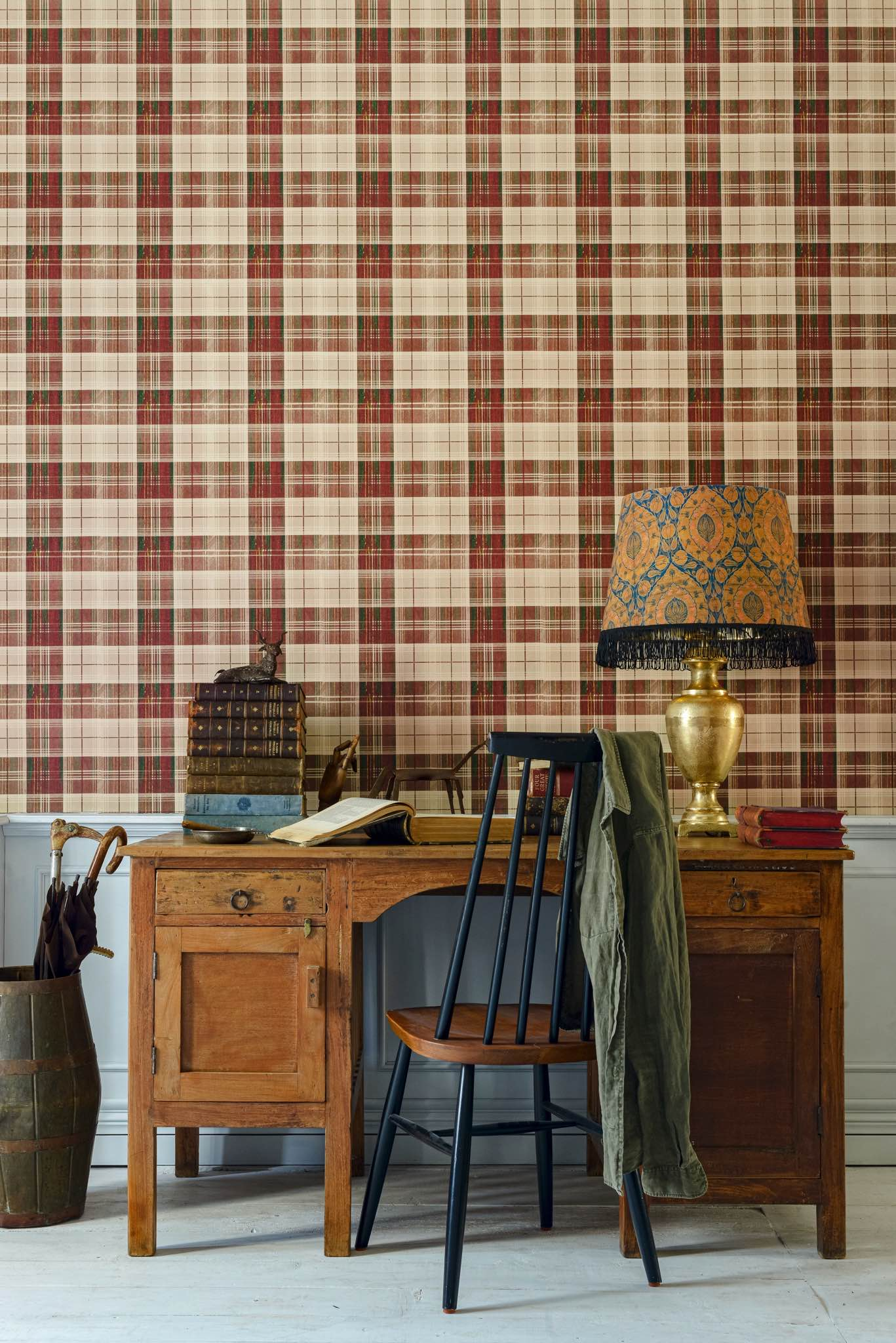 Tapete COUNTRYSIDE PLAID Leather