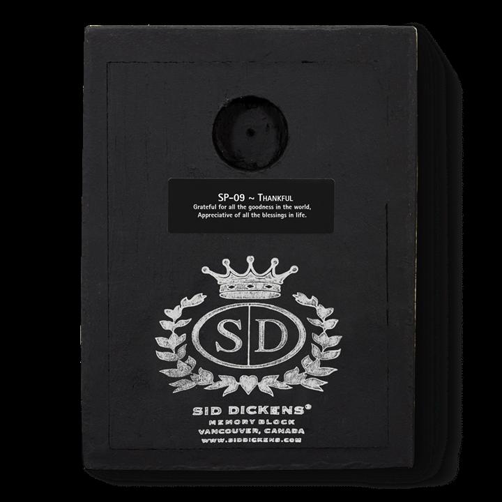 SP09 - Thankful - Memory Block Sid Dickens