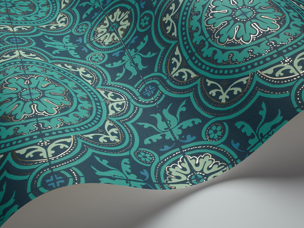 Tapete Piccadilly - Turquoises - 94/8043