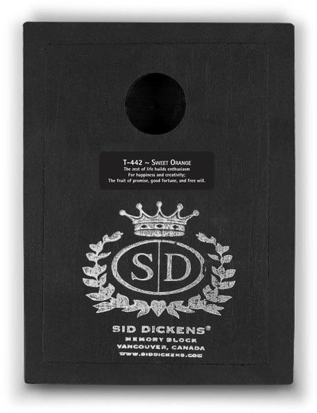 T442 - Sweet Orange *retired* - Memory Block Sid Dickens