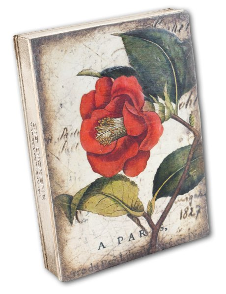 T404 - Red Camellia *retired* - Memory Block Sid Dickens