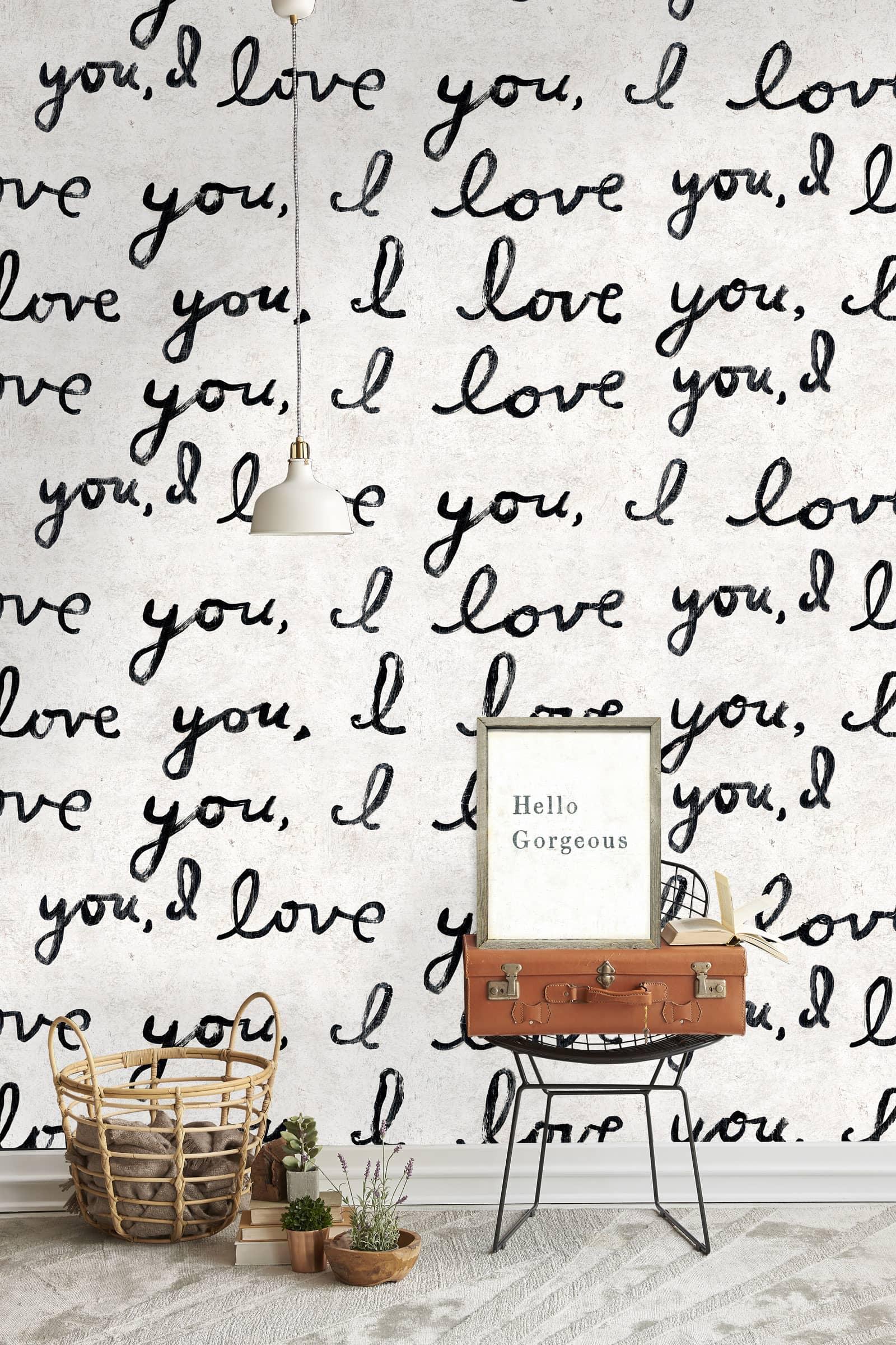 Tapete I LOVE YOU, I LOVE YOU