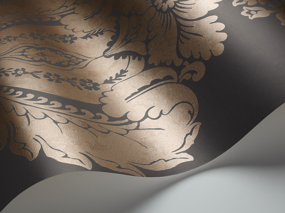 Tapete Baudelaire - Black&Bronze - 94/1002