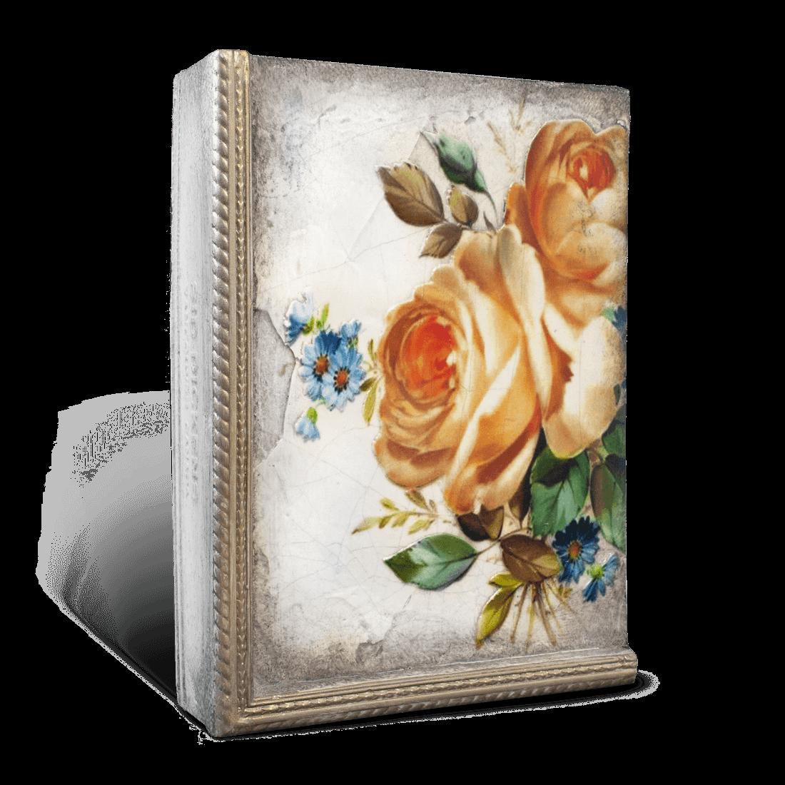 T521 - Sunset Rose - Memory Block Sid Dickens