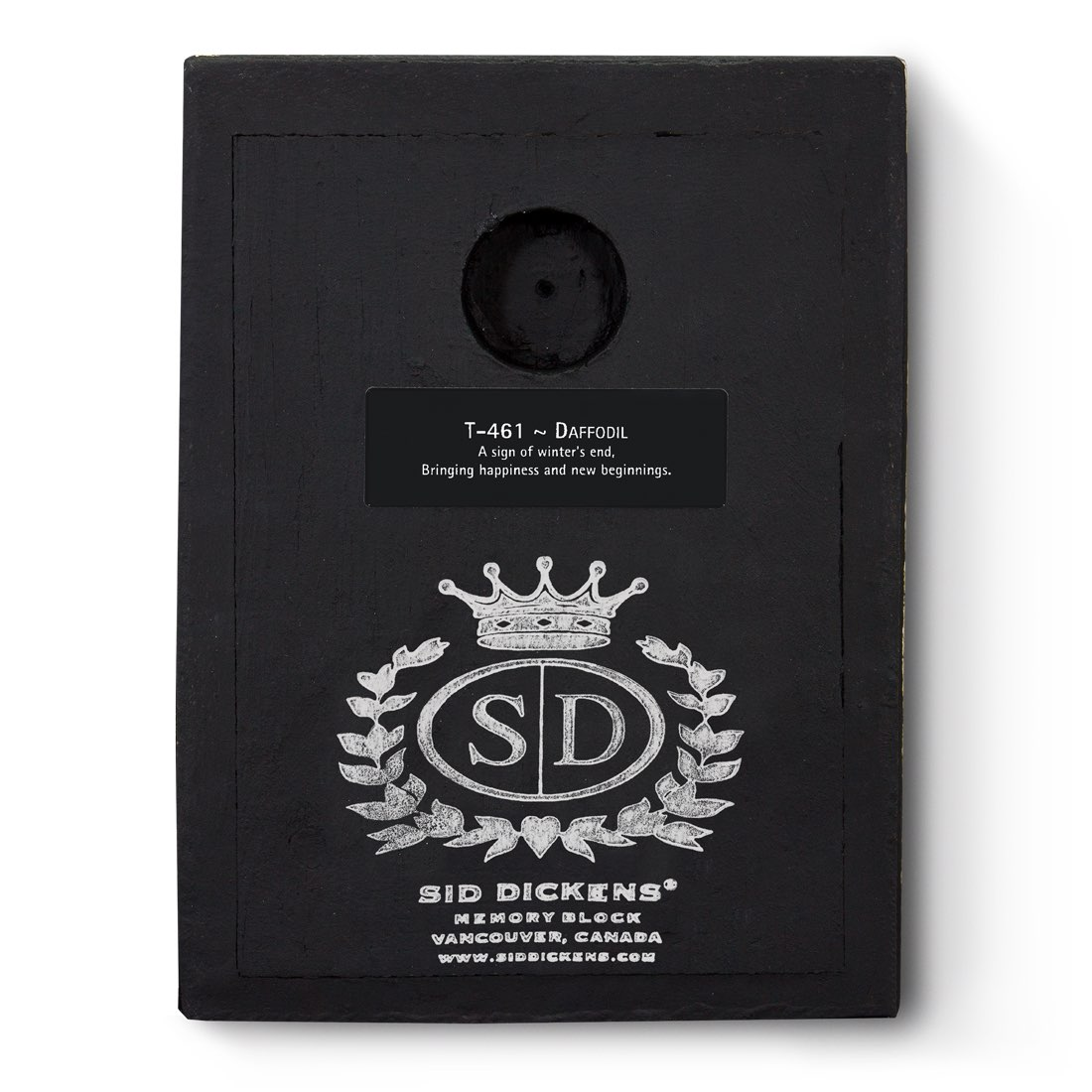 T461 - Daffodil *retired* - Memory Block Sid Dickens