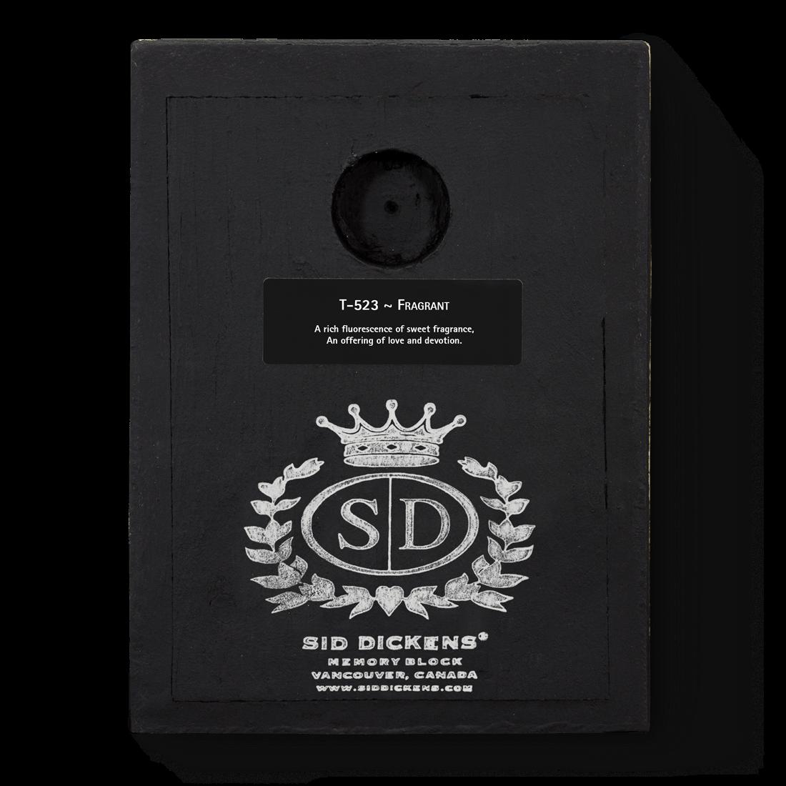 T523 - Fragrant - Memory Block Sid Dickens