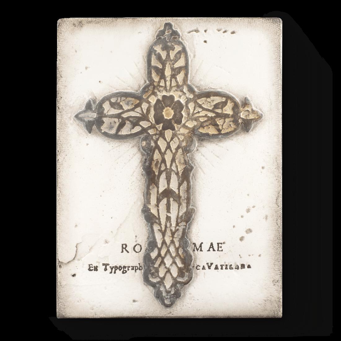 T300 - Medieval Cross - Memory Block Sid Dickens