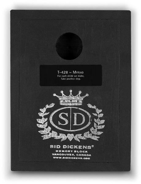 T428 - Myriad *retired* - Memory Block Sid Dickens